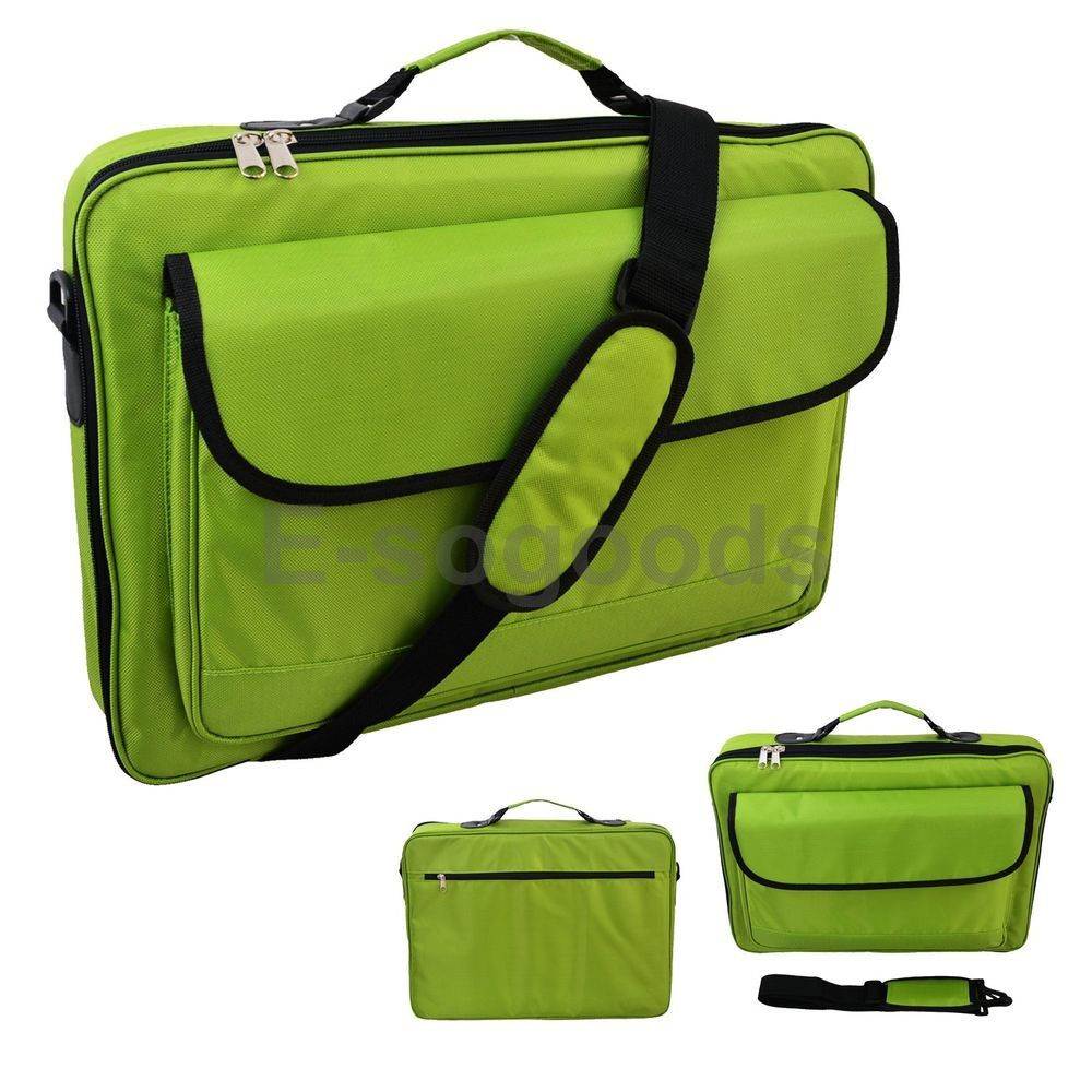 """Laptop Notebook Carrying Messenger 17/"""" 16.4/"""" 15.6/"""" Inch Bag Case Briefcase"""