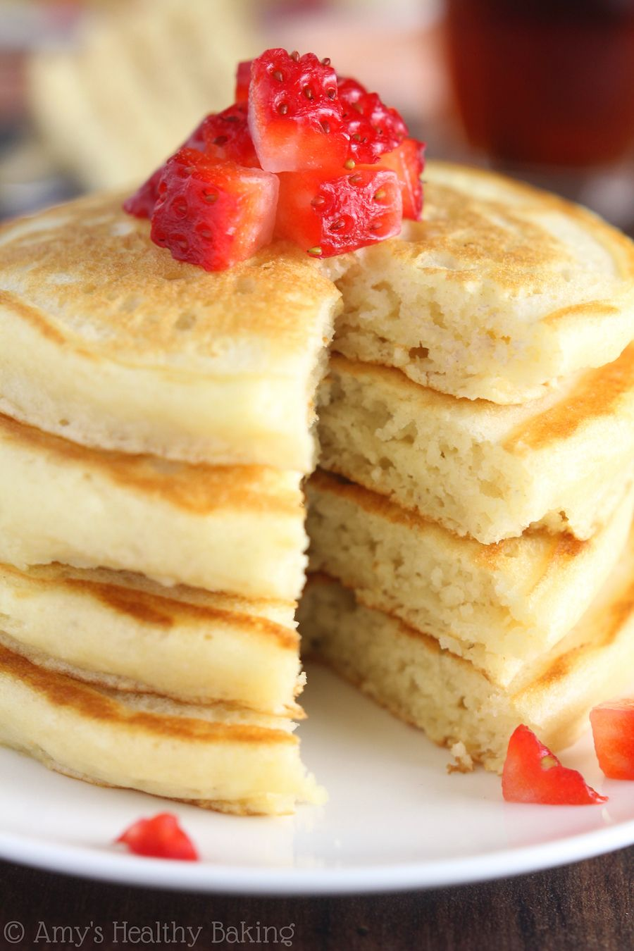 The Ultimate Healthy Buttermilk Pancakes Healthy Baking Baking Recipes