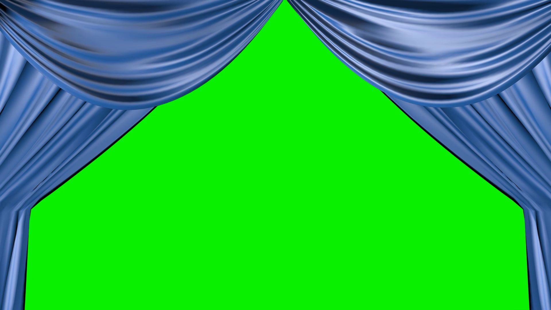 Blue Curtain Opening With Green Screen Background Stock Footage Ad Opening Green Blue Curtain Green Screen Backgrounds Greenscreen Blue Curtains