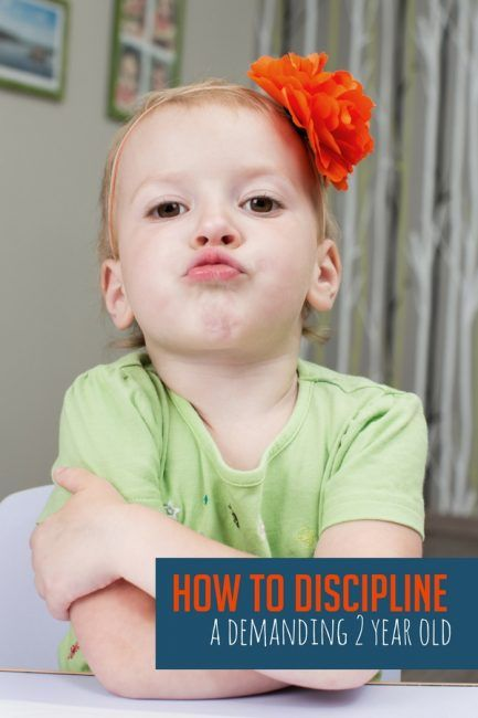 How to Discipline a Demanding 2 Year Old (With images ...