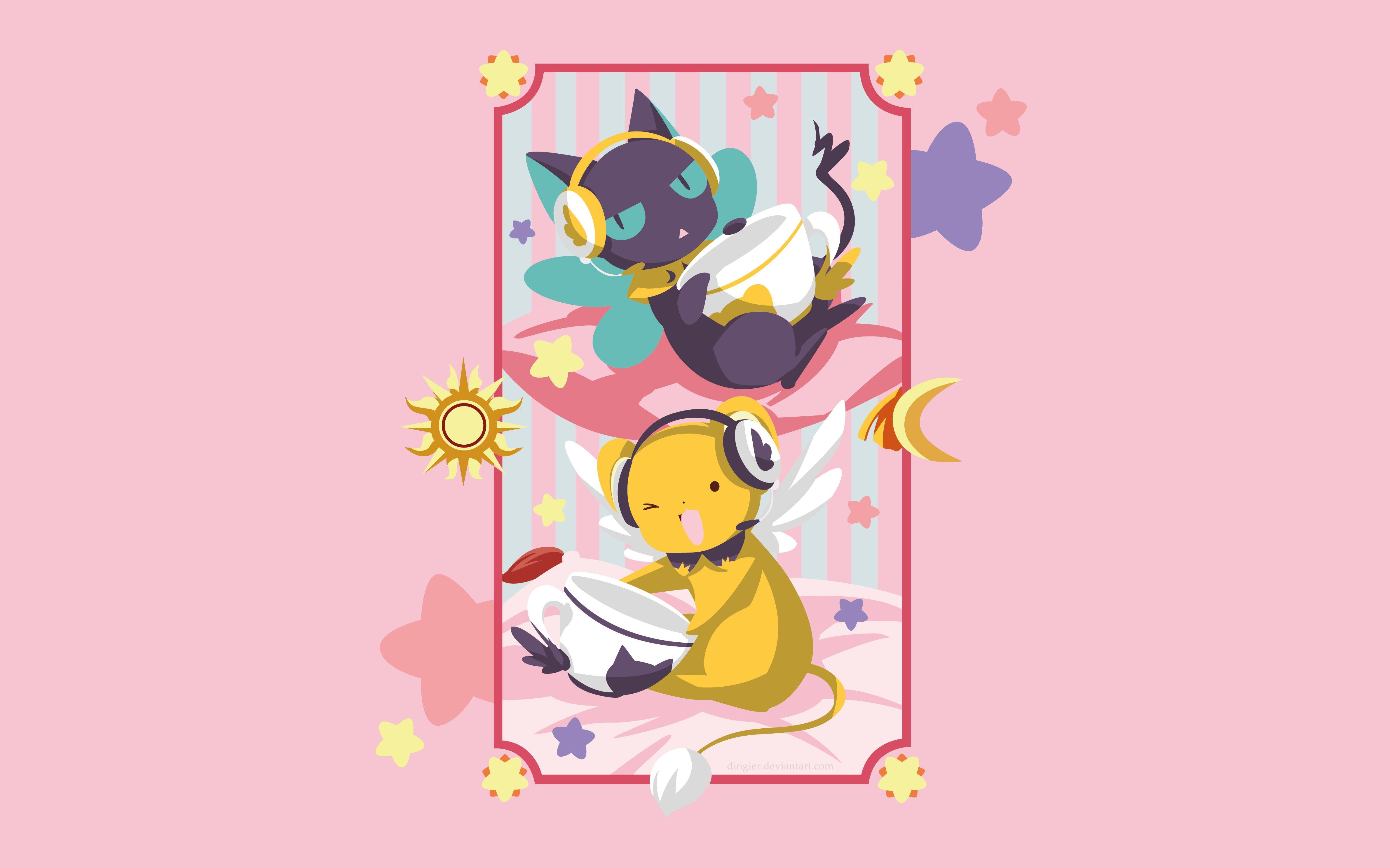 Anime Cardcaptor Sakura Cerberus Cardcaptor Sakura Spinel Sun 4k Wallpaper Hdwallpaper Desktop Character Wallpaper Cardcaptor Sakura Sakura Card