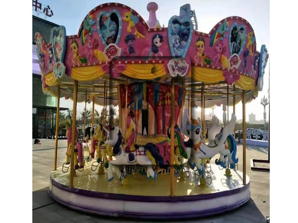 High Quality Cheap Amusement Park 2020 New Carousel Rides In 2020