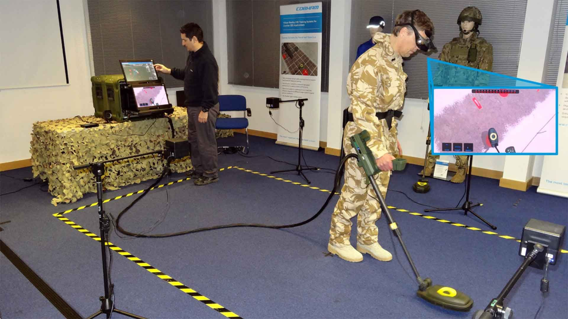Virtual Reality (VR) Handheld IED Detector Training System ...