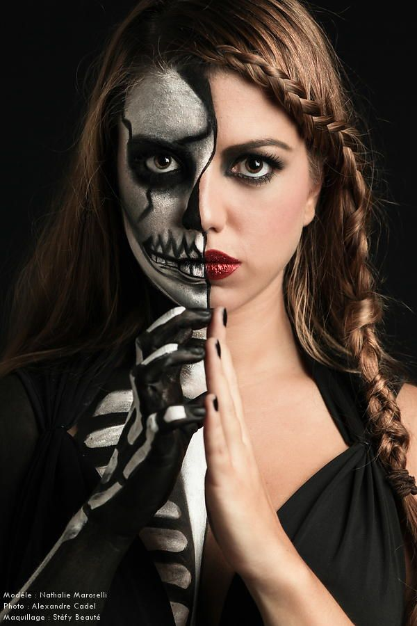 Double face by Toc2photo.com A.Cadel on 500px | *~ Make-up effect ...