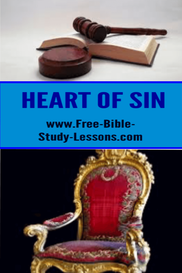 Heart Of Sin Bible commentary, Bible study lessons, Free