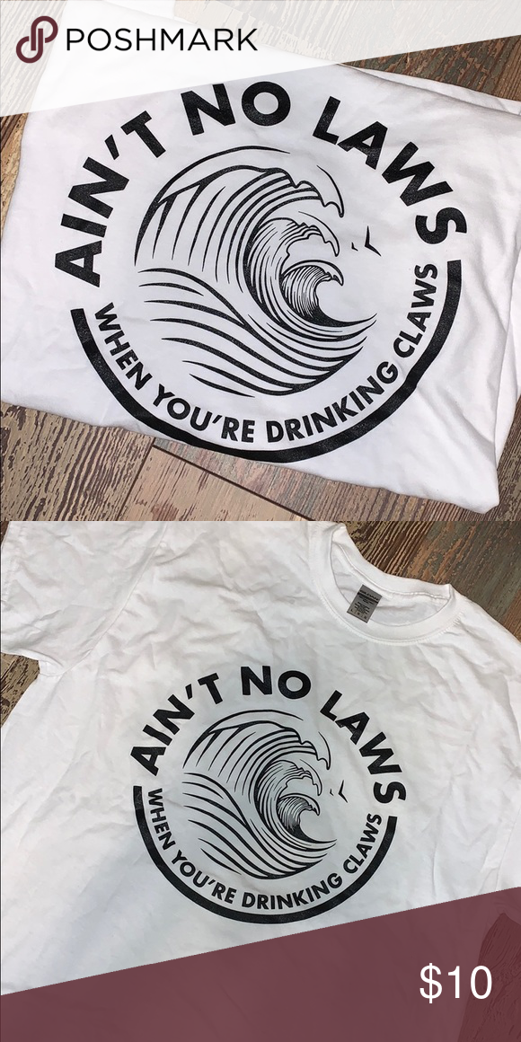 White Claw T Shirt White Claw Hard Seltzer Graphic Tops Things To Sell
