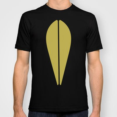 LOTUS MINIMAL - olive. T-shirt by The Bearded Bird. - $22.00