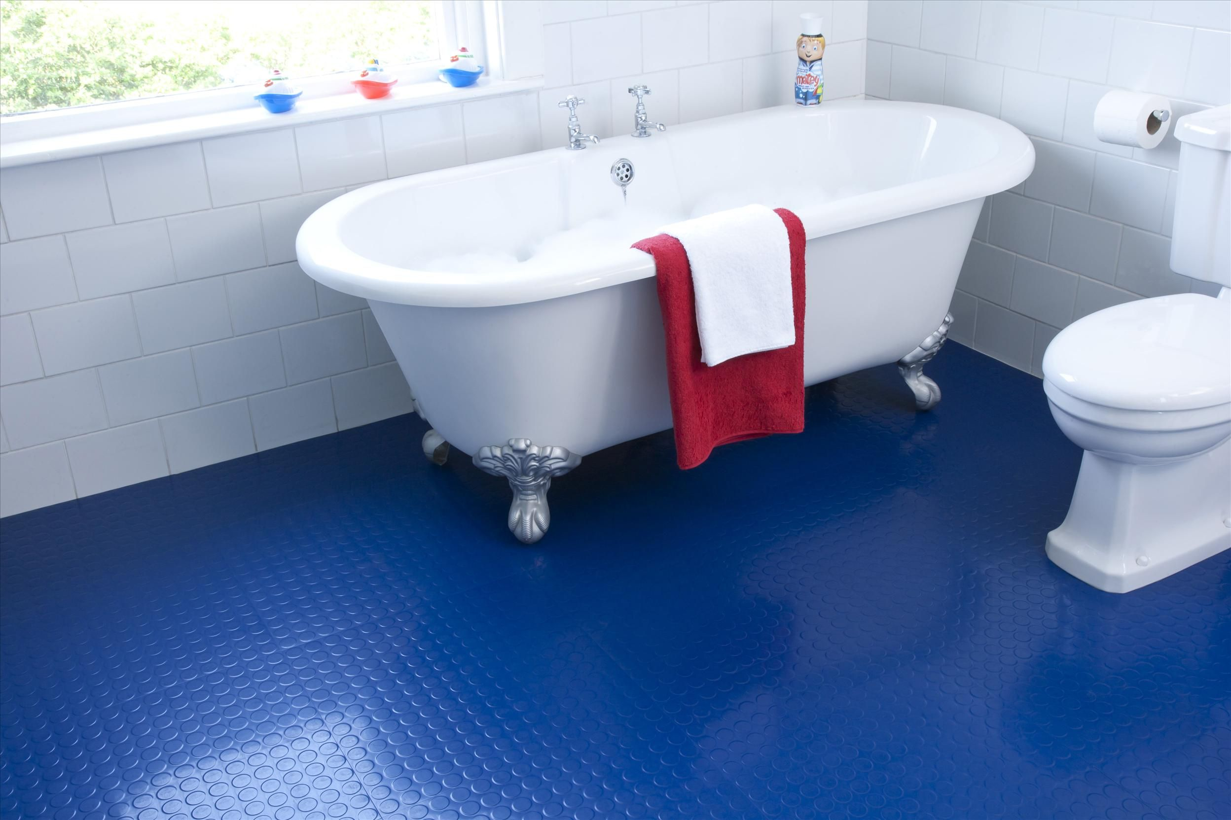 Bathroom flooring rubber tiles pinterdor pinterest rubber cool fancy ideas cool fancy blue rubber floor tile in minimalist bathroom image id 32108 giesendesign dailygadgetfo Image collections