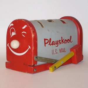 Playskool U.S. Mail Box now featured on Fab.