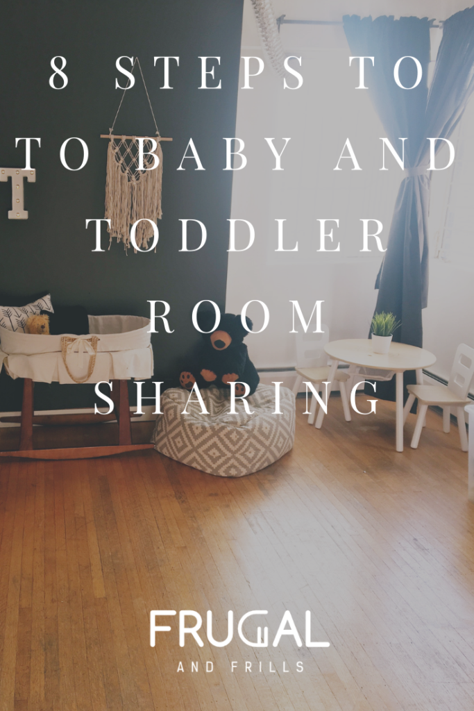8 Steps to Baby and Toddler Room Sharing images