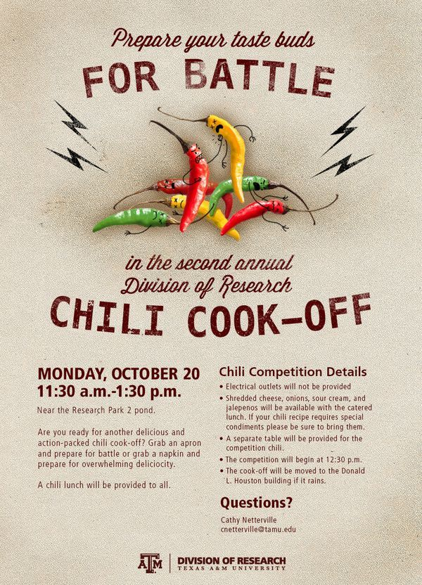 Chili Cook Off Cook Off Rib Cook Off