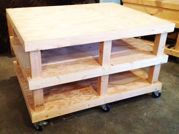 Diy Large Workbench Outdoor Plans In 2019 Portable