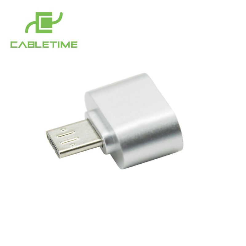 >> Click to Buy << Cabletime Micro USB to USB OTG Adapter Male to USB Micro Android Tablet Pc to Mouse Keyboard For Samsung Sony Smartphone N075 #Affiliate