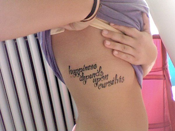 70 Inspirational Tattoo Quotes Cuded Girl Rib Tattoos Good Tattoo Quotes Tattoos