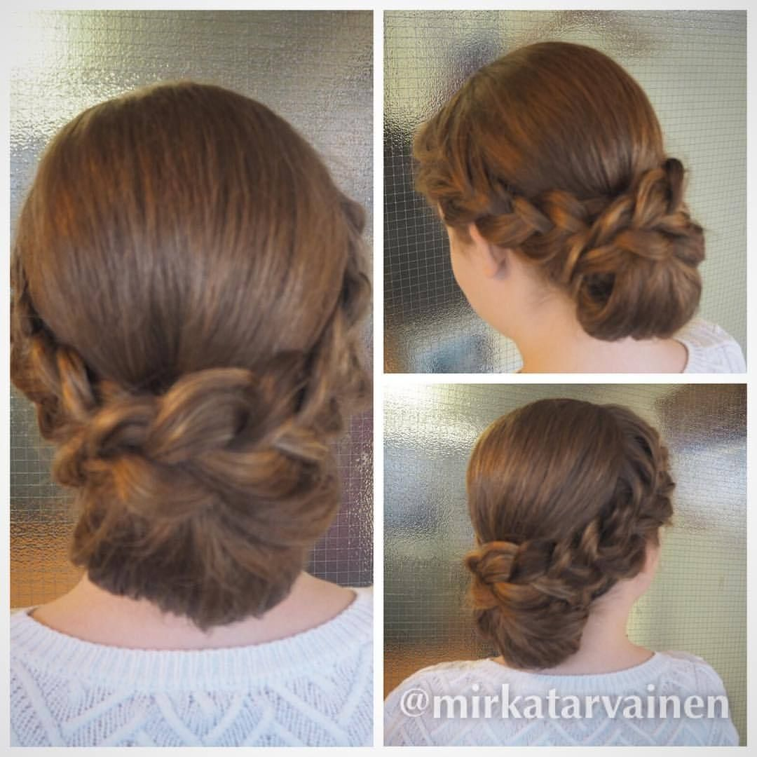 Nutturan Teko Ohje X 3 Tutorial In 2019 Prom Pinterest Hair