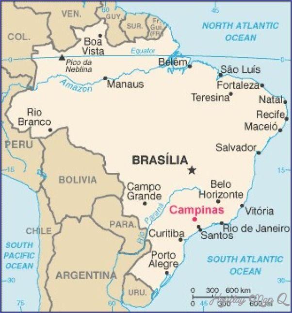 awesome Campinas Map Holidaymapq Pinterest Campinas and City