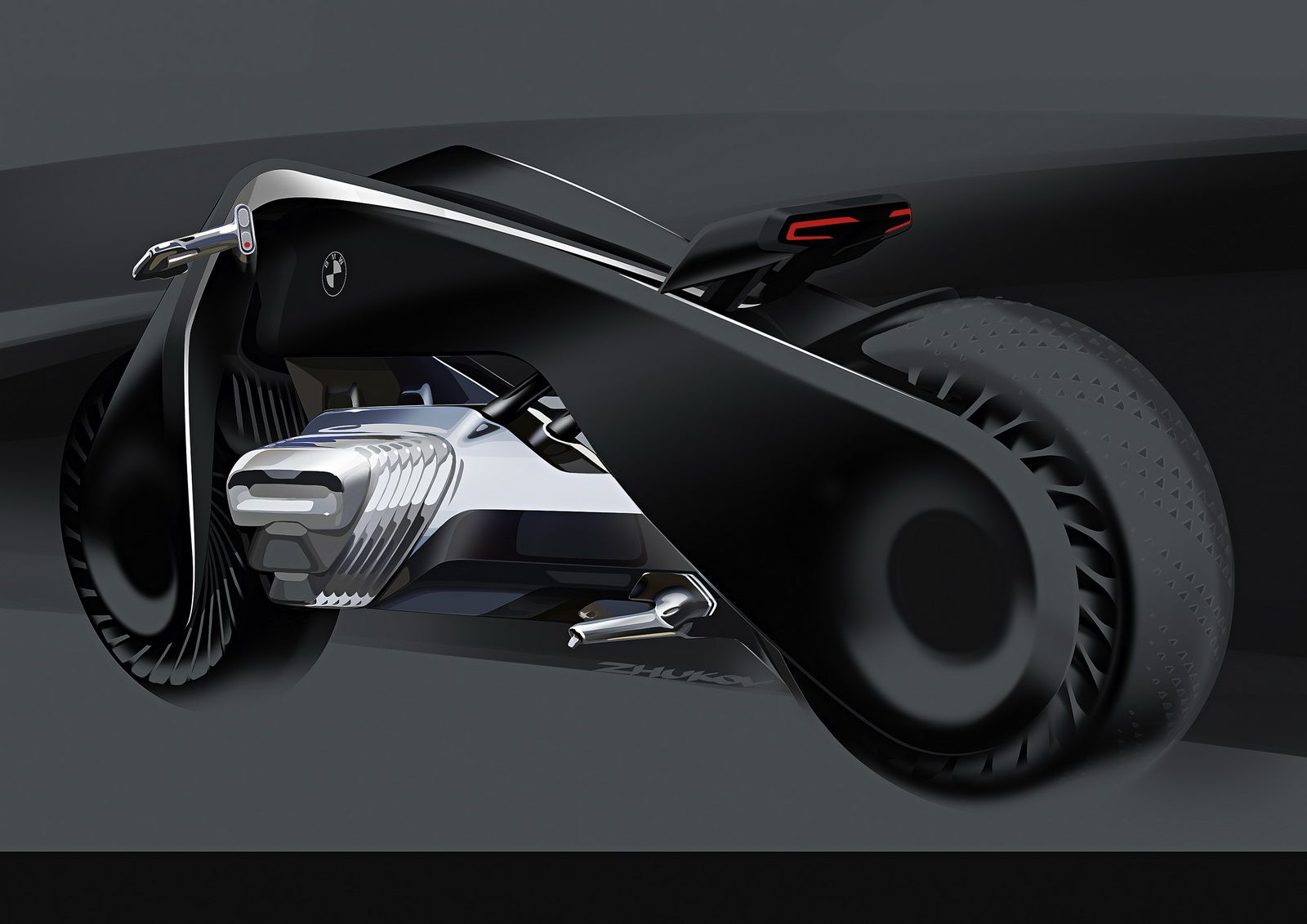 Bmw S Vision Next 100 Bike Concept Looks Like A Batpod From The