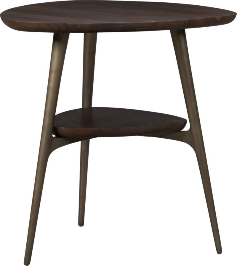 Bel Air Side Table In Accent Tables | Crate And Barrel. In Between 2