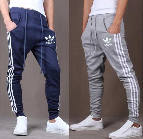 Pantalon Chupin Jogging Gimnasia Hombre Adidas Deportivo ...