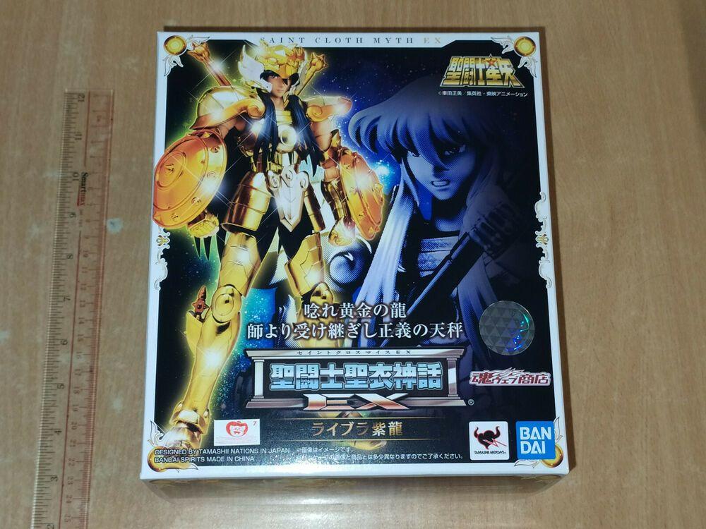 Bandai Saint Seiya Cloth Myth Ex Gold Libra Shiryu Figure Limited 2020 Ebay Saint Seiya Bandai Model Gift
