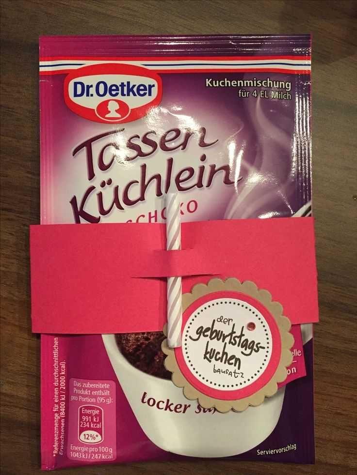 Photo of Kit de pastel de cumpleaños (de www.mirid.de) modificado para cumpleaños urgente …