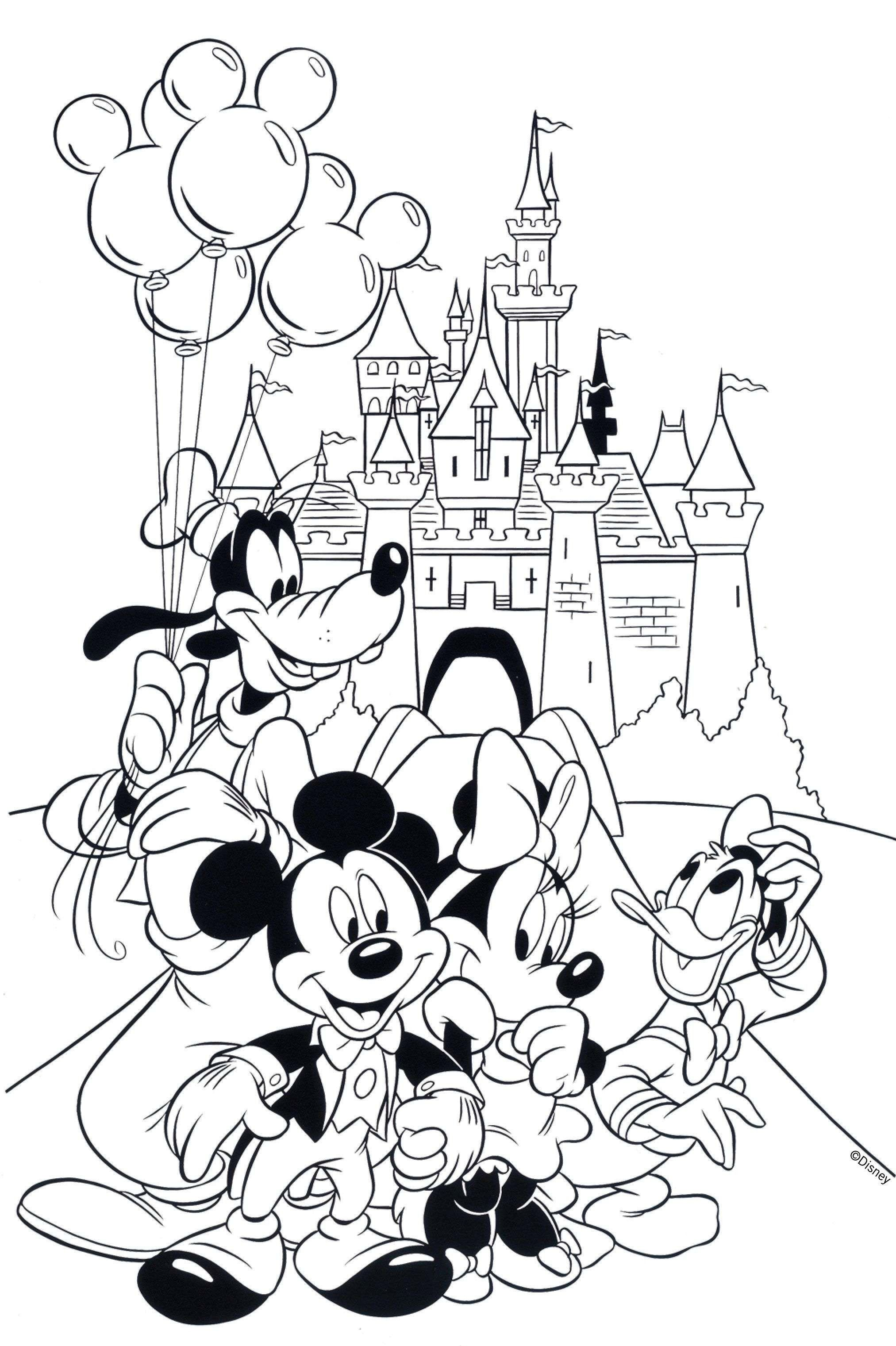 27 Best Of Mickey Mouse Coloring Pages In 2020 Mickey Coloring Pages