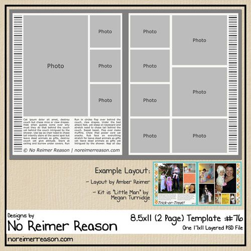 FREE Digital Scrapbooking Template Scrapbooking Pinterest - free album templates