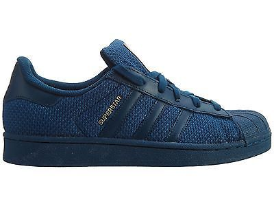 blue adidas superstars junior