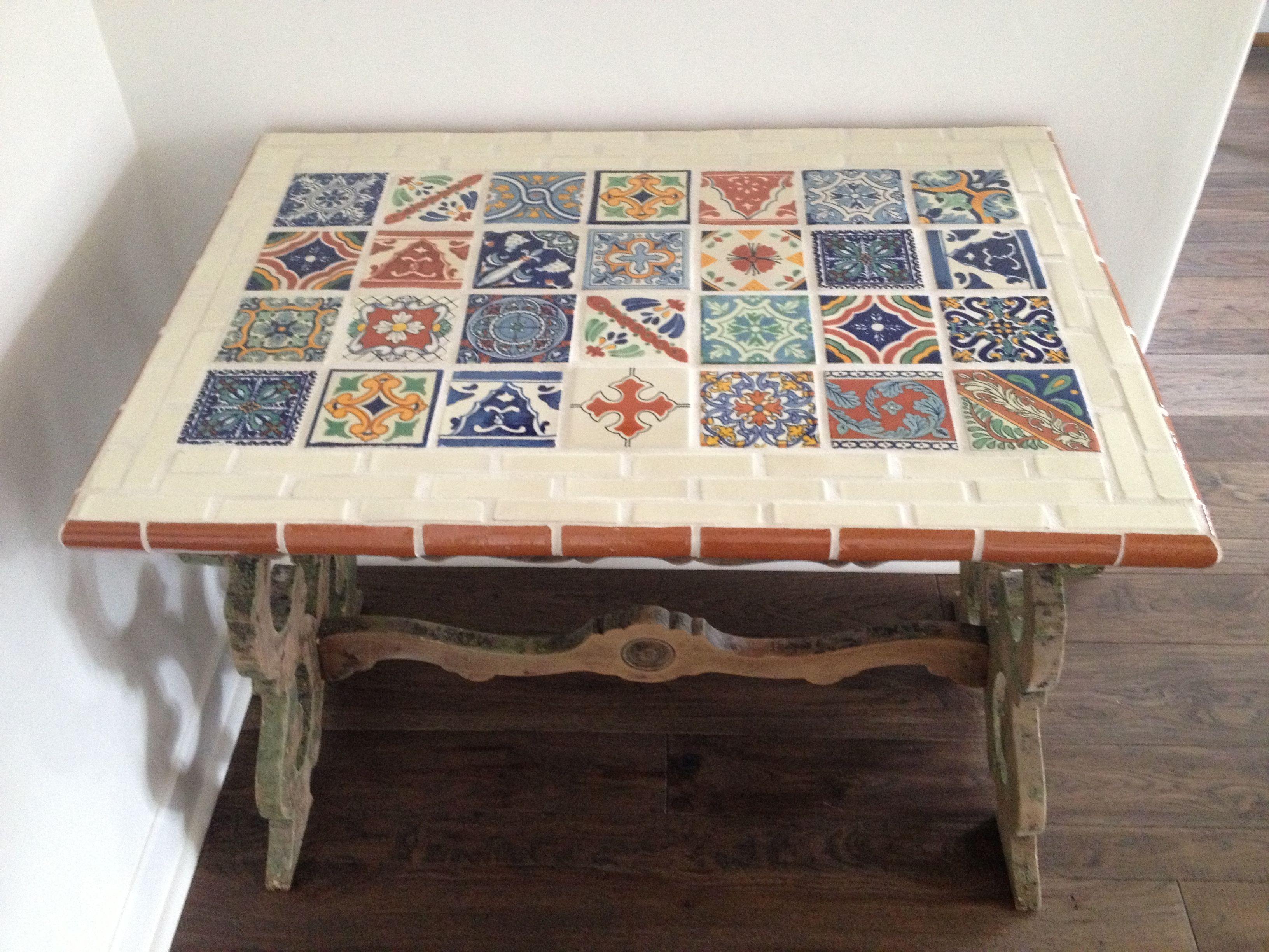 Nice Talavera Tile Table