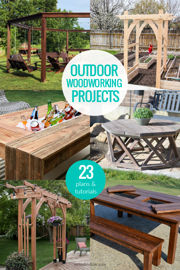 Create An Amazing Backyard For Summer With These Diy Woodworking Projects Build A S In 2020 Outdoor Woodworking Projects Outdoor Wood Projects Outdoor Pallet Projects
