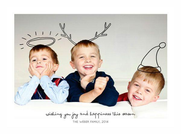 5 felicitaciones navide as con fotos muy divertidas - Postal navidena infantil ...