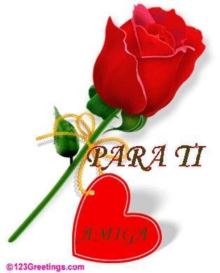 Para Ti Esta Rosa En Un Dia Tan Hermoso Como Hoy Frases