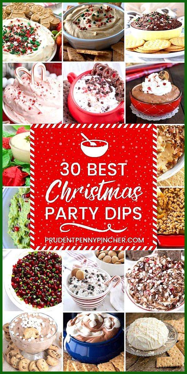30 Best Christmas Party Dips appetierz low carb appetierz non dairy