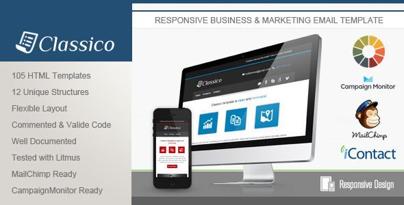 Hire Best Responsive Email Template Design Company for Email - marketing email template