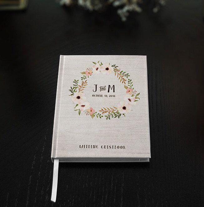 Wedding Guest Book - Wedding Guestbook - Custom Guest Book - Personalized Guestbook - Rustic Guestbook - Wedding gift - Wedding Keepsake by BGregoryDesign on Etsy https://www.etsy.com/listing/240206755/wedding-guest-book-wedding-guestbook