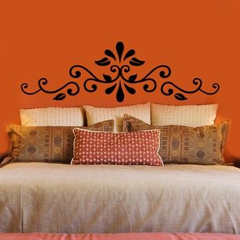 how about a wall decal for headboard? | for our home | pinterest