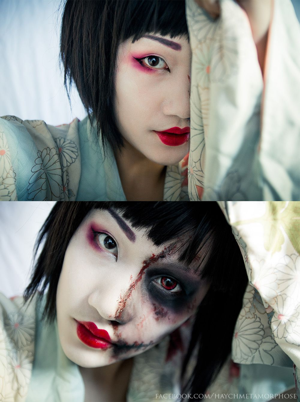 pin by alana luttrull on zombies pinterest geisha halloween makeup and halloween costumes
