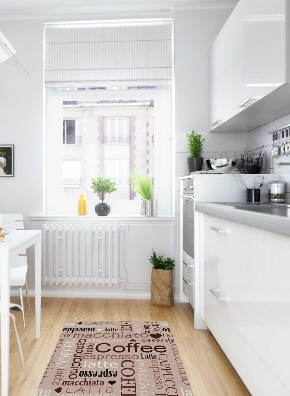 latte tapis cuisine meuble entree