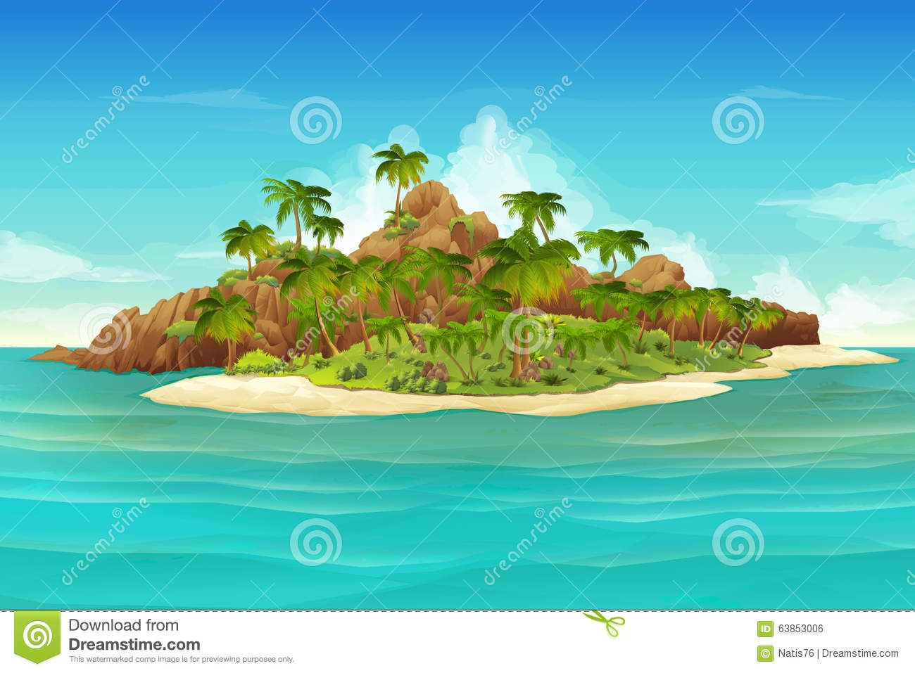 Hd Tropical Island Beach Paradise Wallpapers And Backgrounds: Pin By Kristen Hughes On PP Projections -cartoons