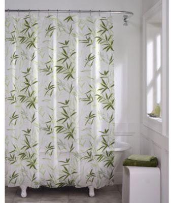Bed Bath Beyond Zen Garden Peva 70 Inch X 72 Inch Shower Curtain