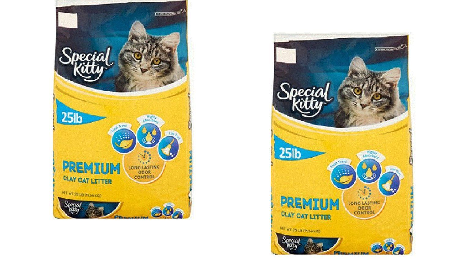 Special Kitty Premium Cat FRESH clean SCENT Litter, 25 Lb