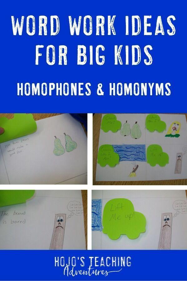 Contemporary Homophones Für Kinder Arbeitsblatt Motif - Mathe ...