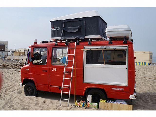mercedes benz l409 wohnwagen mobile kastenwagen in prien am chiemsee gebraucht kaufen bei. Black Bedroom Furniture Sets. Home Design Ideas