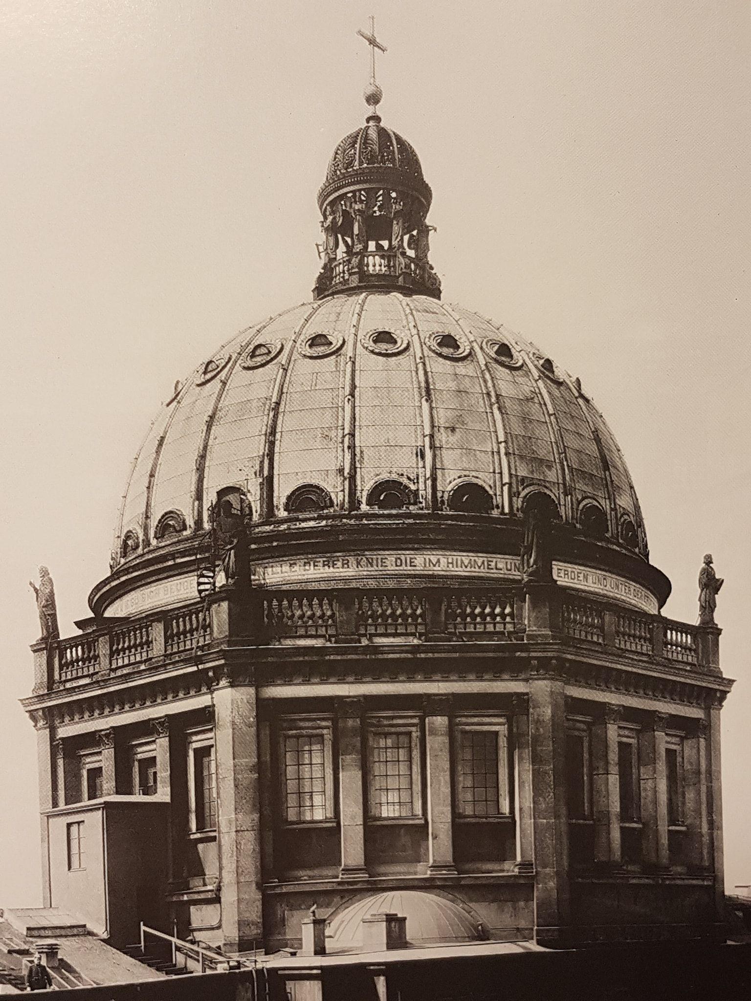 Berlin Stadtschloss Kuppel Aufnahme Circa 1901 Humboldt Forum Berlin Historical Photos
