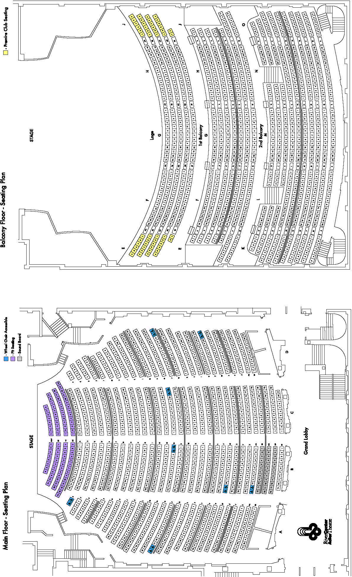 Adler Theater Davenport Iowa Venue Seating Maps