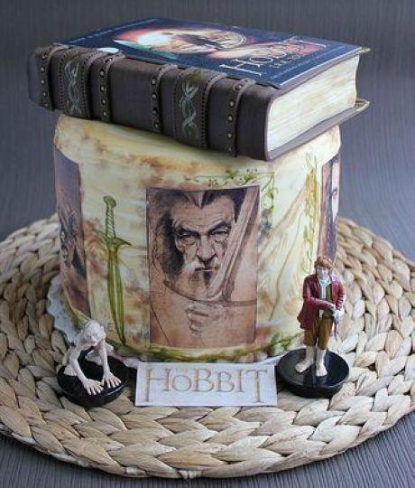 The Hobbit cake