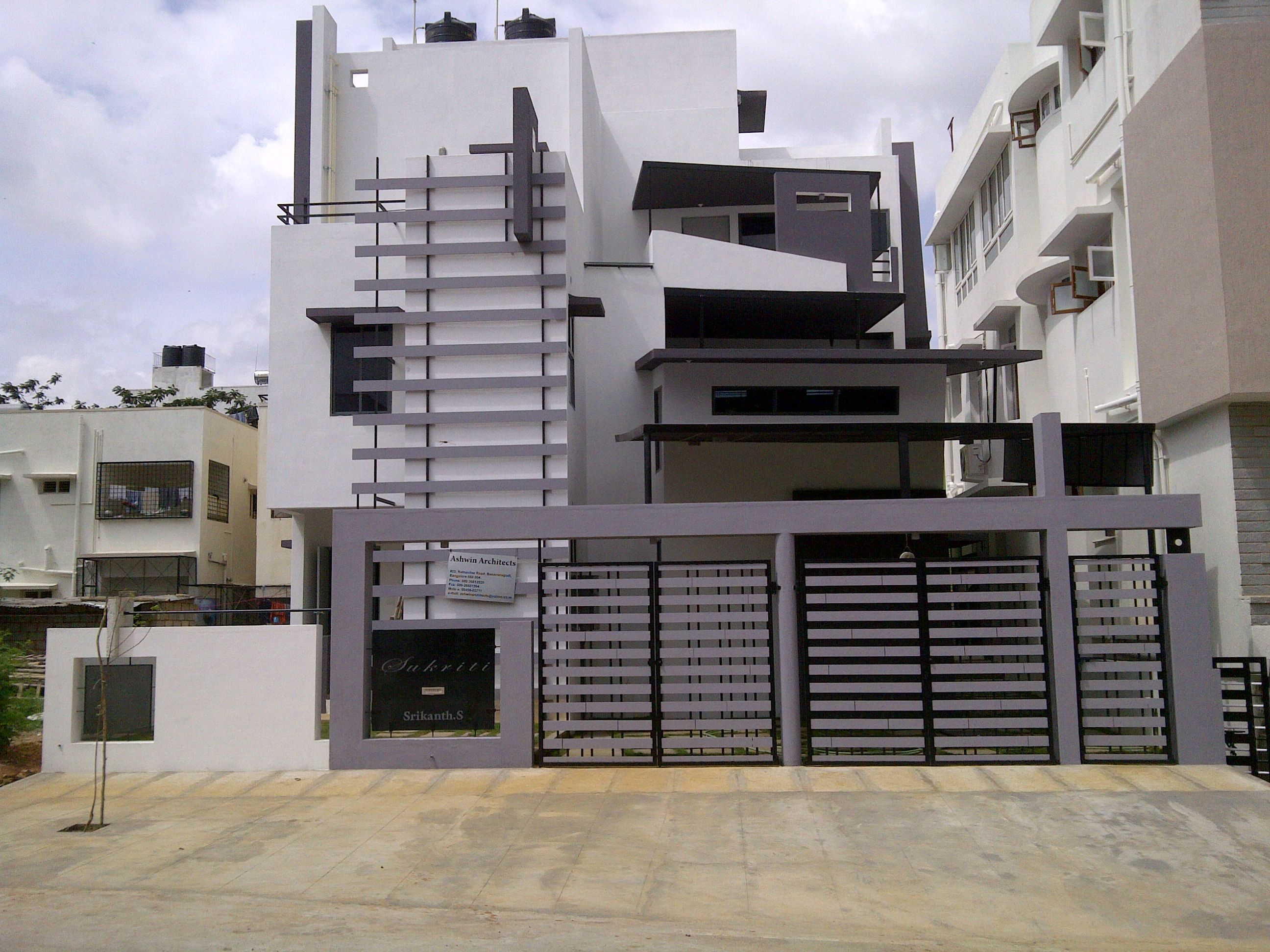 Front Design Of House In Bangalore Part - 23: Take Free Site Visit Of Projects By Top Architects In Bangalore.  Eco-friendly Designs By Architects Bangalore. Individual Homes, Commercial  Buildings, ...
