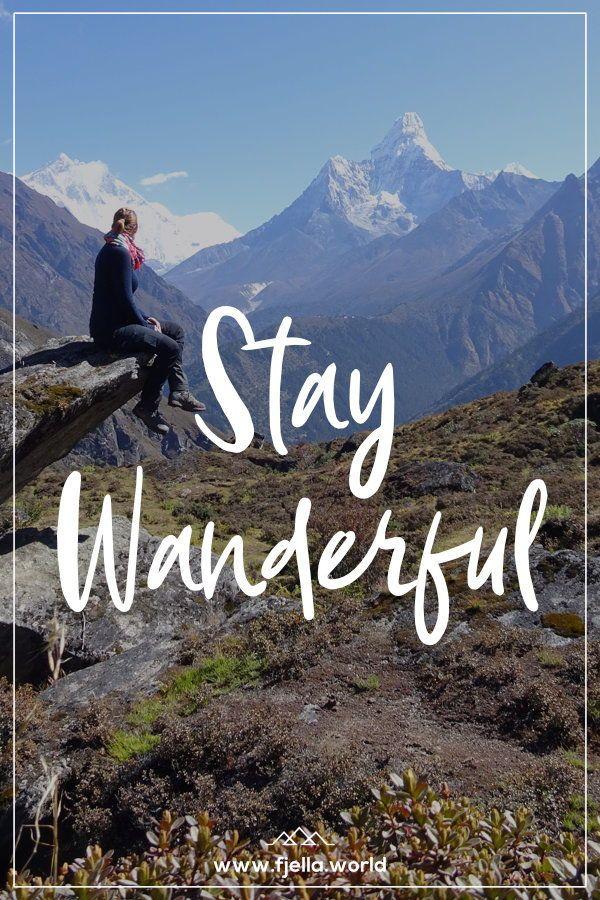 Aim High - Inspirierende Wandersprüche und Bergzitate