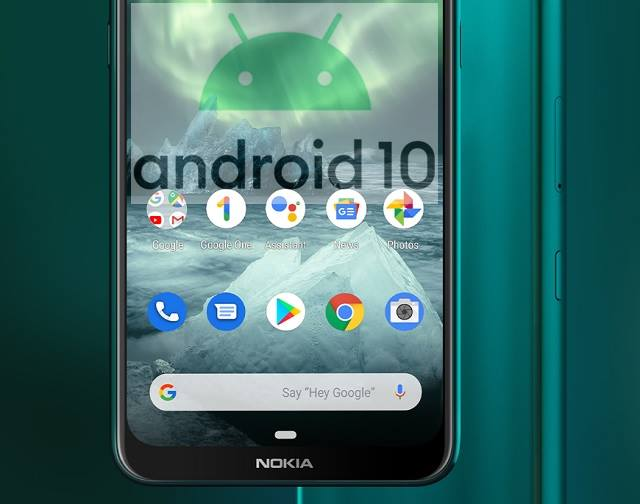 The Android 10 update for Nokia 7.2 mobile phone is now