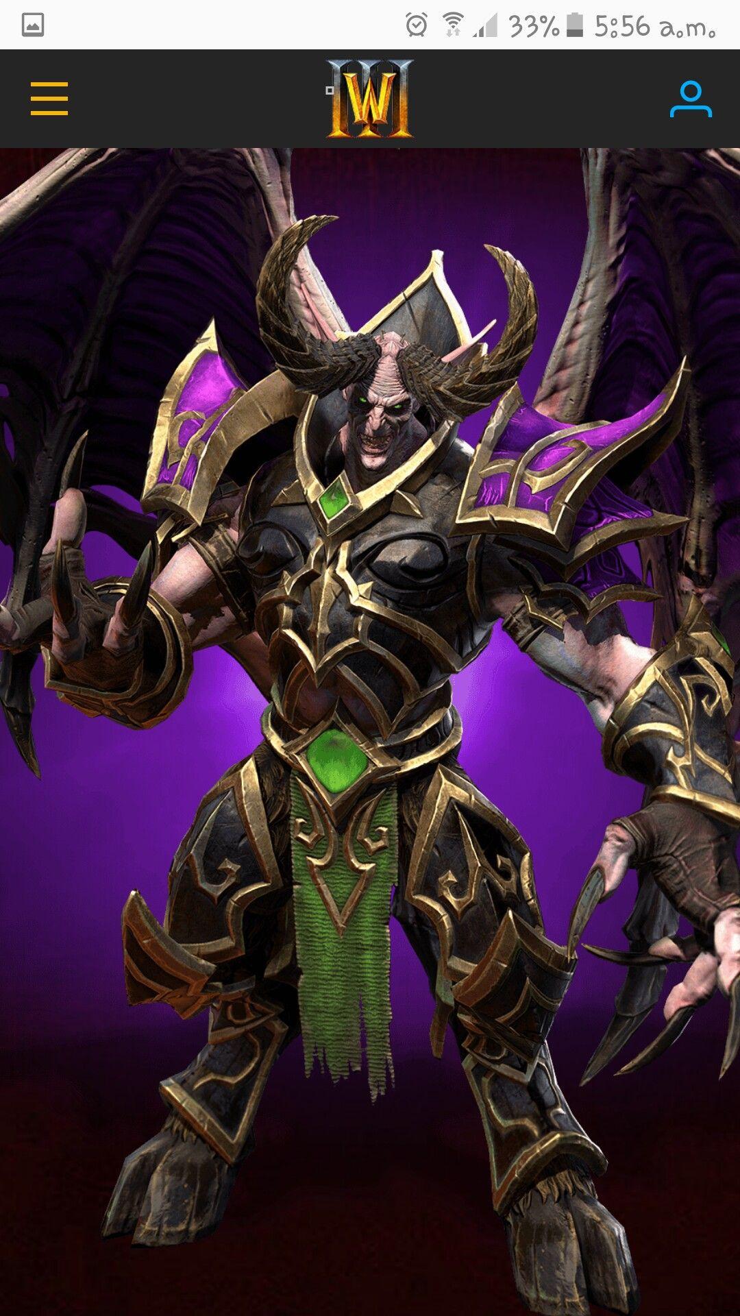 Warcraft 3 Remaster :Mal'Ganis | WARCRAFT in 2019 | Warcraft 3